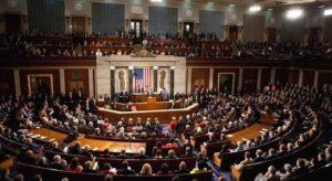 Lors d'une séance du Congrès américain