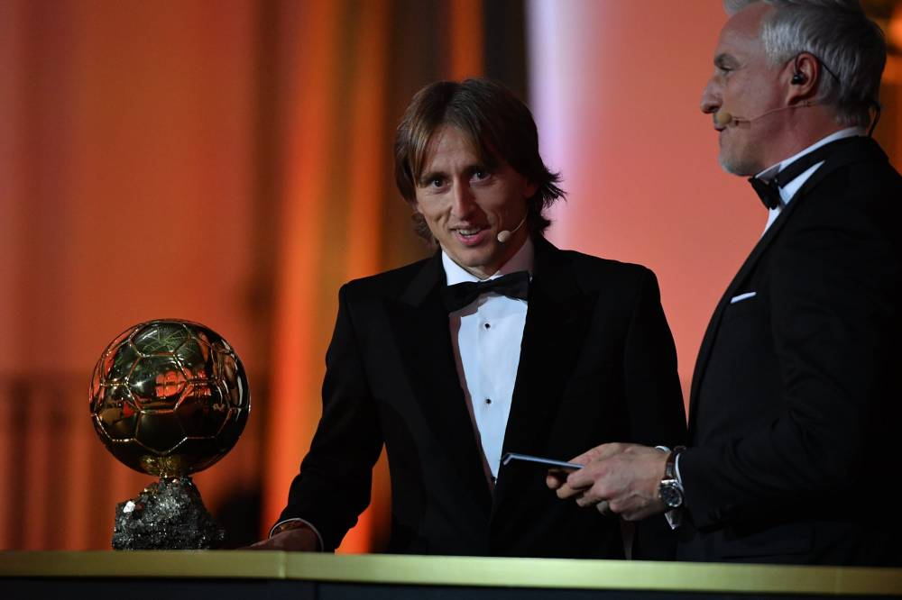 Luka Modric, Ballon d'Or France Football 2019