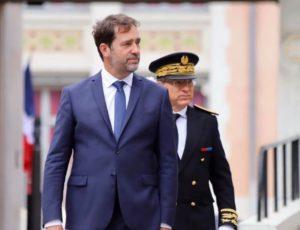 Le ministre de l'Intérieur français Christophe Castaner, 29 mai 2020.
