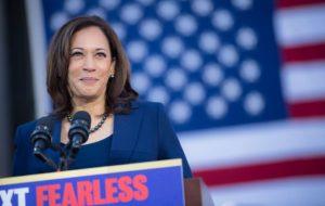 La sénatrice Kamala Harris, colistière de Joe Biden.