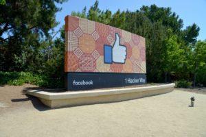 Menlo Park, siège social de Facebook aux Etats Unis.